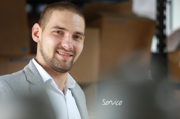 Matias Brcina – Service
